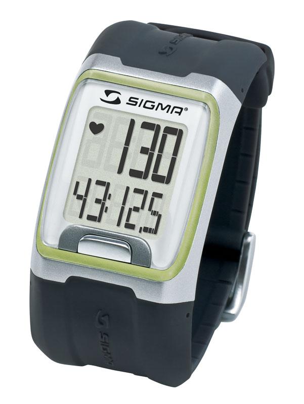 SIGMA PC 3.11 pulsmetr -černozelený
