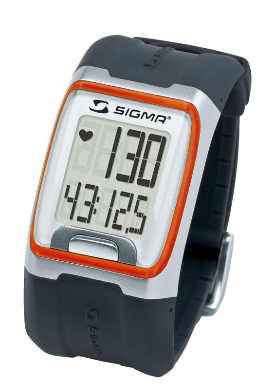 SIGMA PC 3.11 pulsmetr -černooranžový