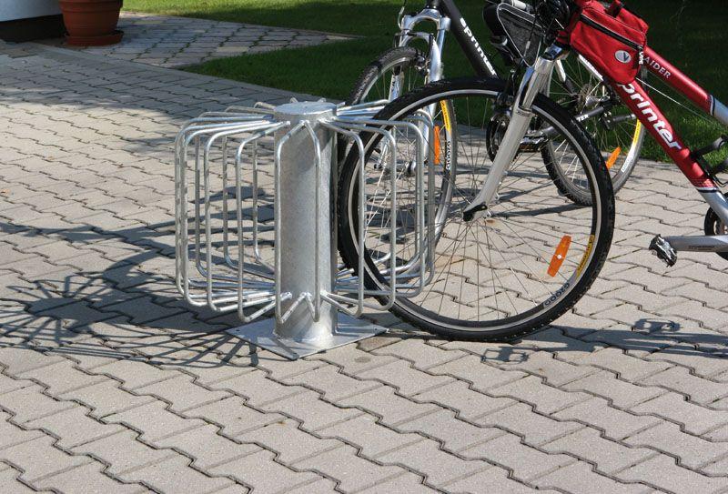 Stojan na kola - paprskový pro 10 kol
