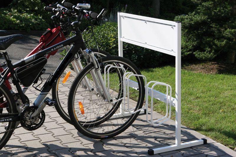 Stojan na kola - 3 kola - s reklamní plochou