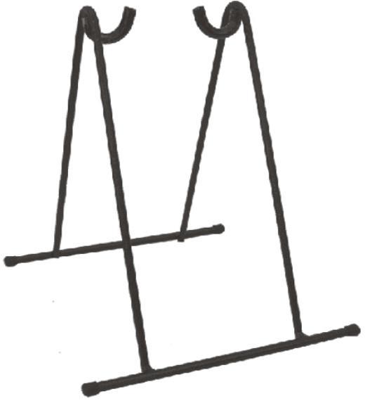 Stojan na kolo pod zadní vidlici - černý