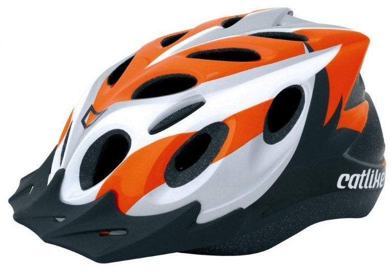 Přilba Catlike Diablo MTB 08 oranžovo/šedo/bílá