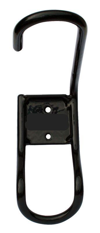 Držák kola na zeď za přední kolo vz.2 - černý
