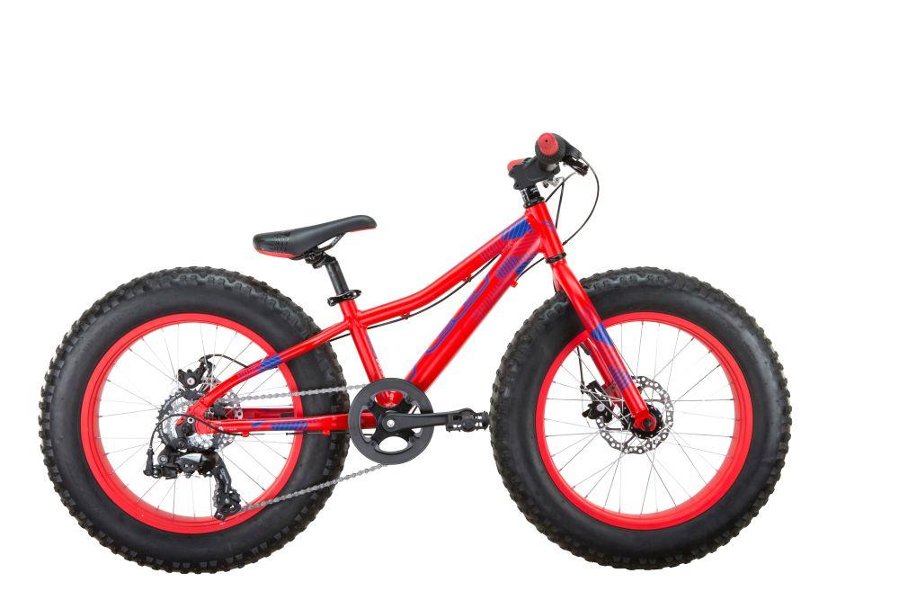 """FELT dětské Fat Bike kolo Cruncher 20 FAT 20"""" červená modrá 2017"""