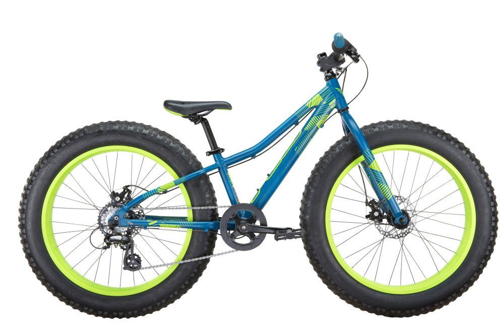 "FELT dětské Fat Bike kolo Cruncher 24 FAT 24"" modrá 2017"