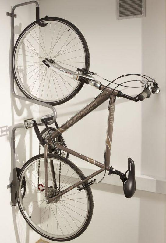 Držák kola na zeď pro 1 kolo s možností uzamčení