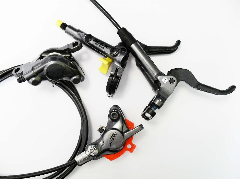 Brzdy kotoučové Shimano BR-M9000 XTR kompletní - přední + zadní