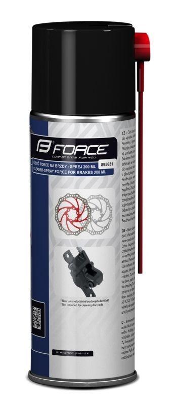Čistící a odmašťovací spray na brzdy FORCE - 200ml