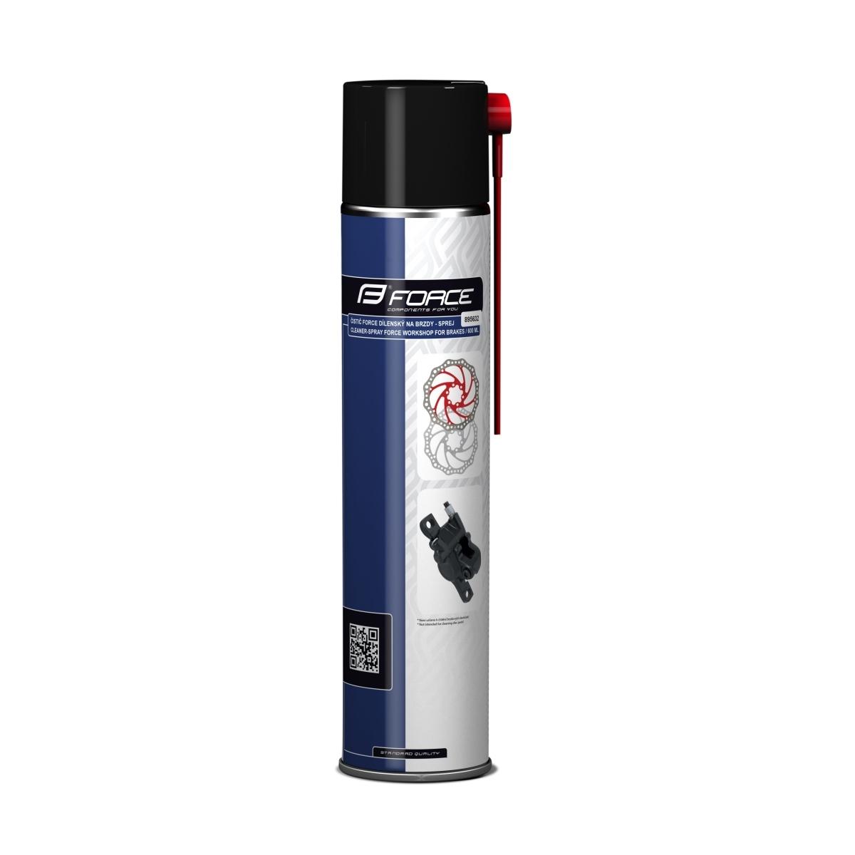 Čistící a odmašťovací spray na brzdy FORCE - 600ml