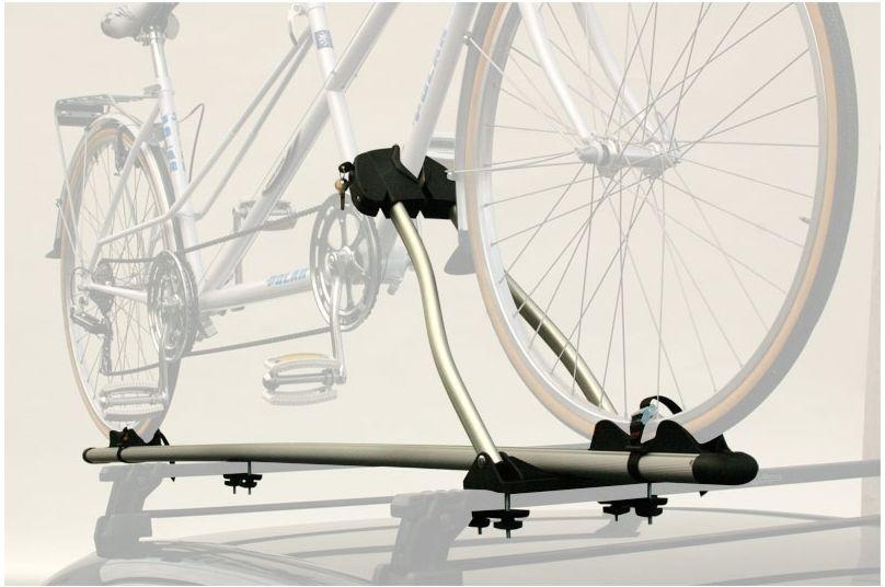 Držák kola na střešní nosič PERUZZO ROMA tandem - stříbrný
