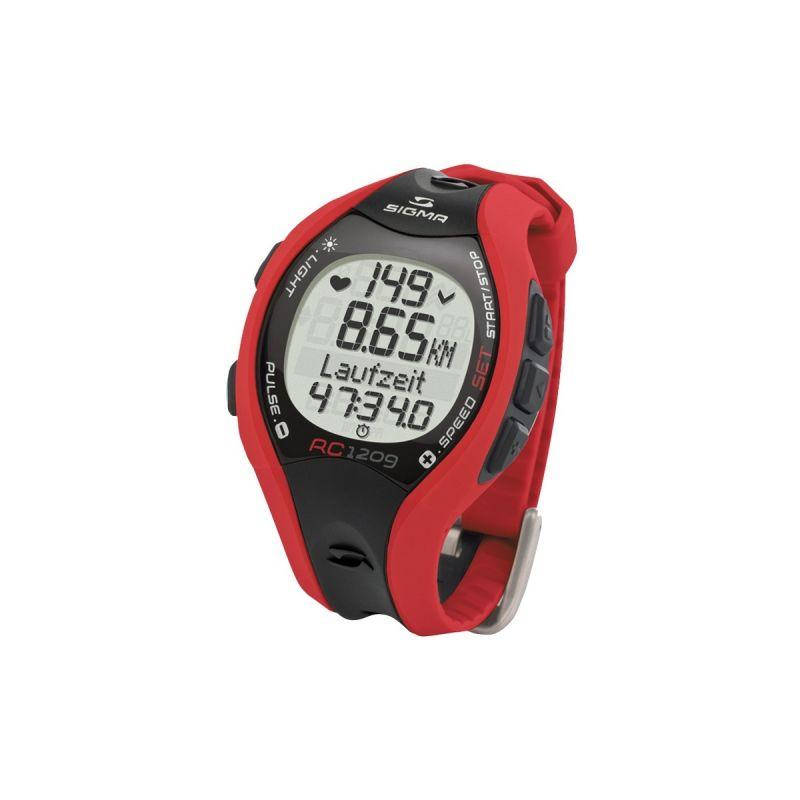 SIGMA RC 1209 Pulsmetr běžecký červený