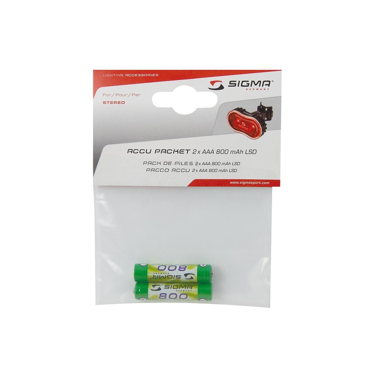 Baterie dobíjecí SIGMA AAA Ni-MH 800mAh