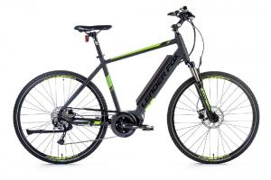 "Crossové kolo Leader Fox 28"" E-Bike Bend Gent 20,5"" grey matt/"